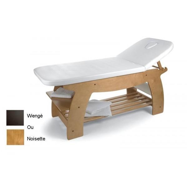 Table de soins en bois wengé