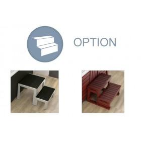 SPA - option escalier Bois