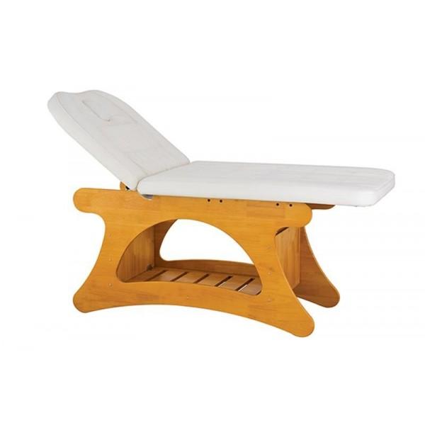 Table de soins en bois clair éco