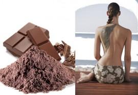 Enveloppement hydratant au chocolat