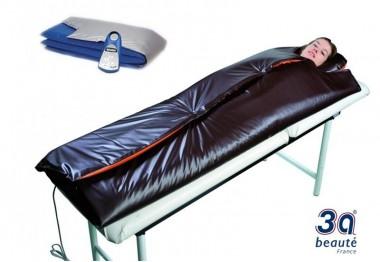 Couverture Chauffante Bodyslim XL chocolat