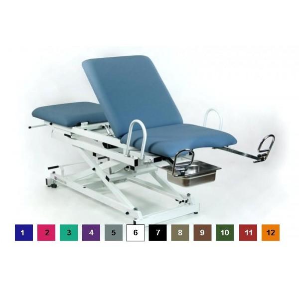 Table d'examen gynécologique électrique