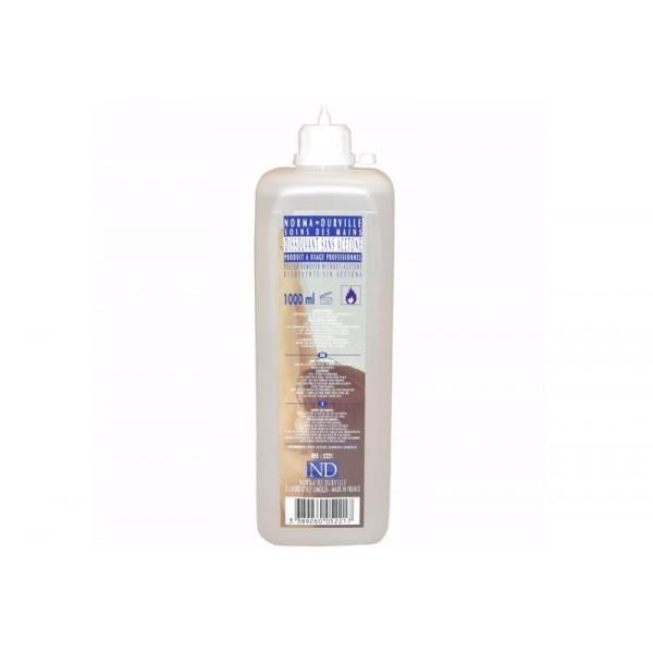 Dissolvant sans Acetone 1 litre