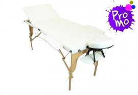Table de massage portable blanche