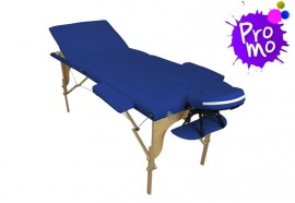 Table de massage portable bleue