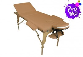 Table de massage portable beige