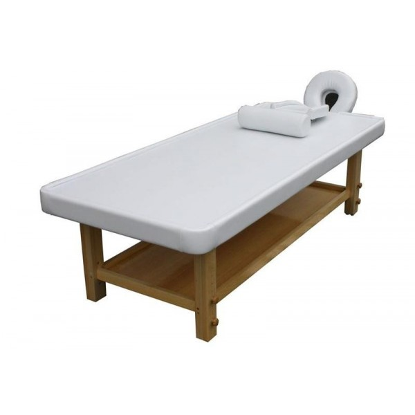 Table de massage Ayurvéda clair