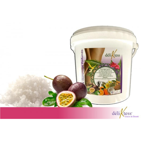 Gommage au sel et Fruits de la Passion 1 kg