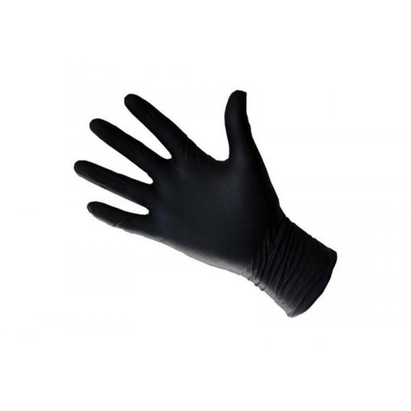 Gants latex noirs small