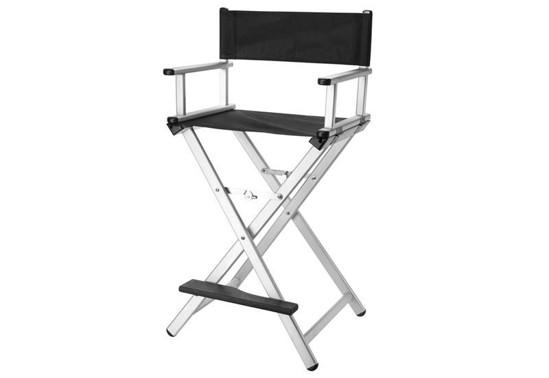 chaise haute pour maquilleur mod le aluminium. Black Bedroom Furniture Sets. Home Design Ideas