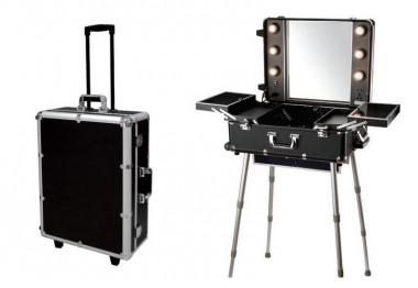 Valise Studio De Maquillage Aluminium