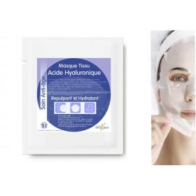 Masque tissu anti-âge à l'acide hyaluronique