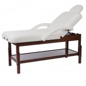 Table de soin Long bois foncé