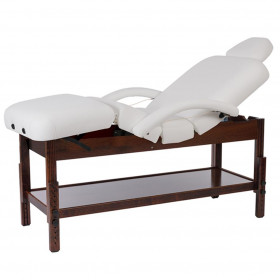 Table de soins en bois Brachi bois foncé