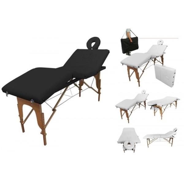 Table de massage portable 4 zones couleur au choix