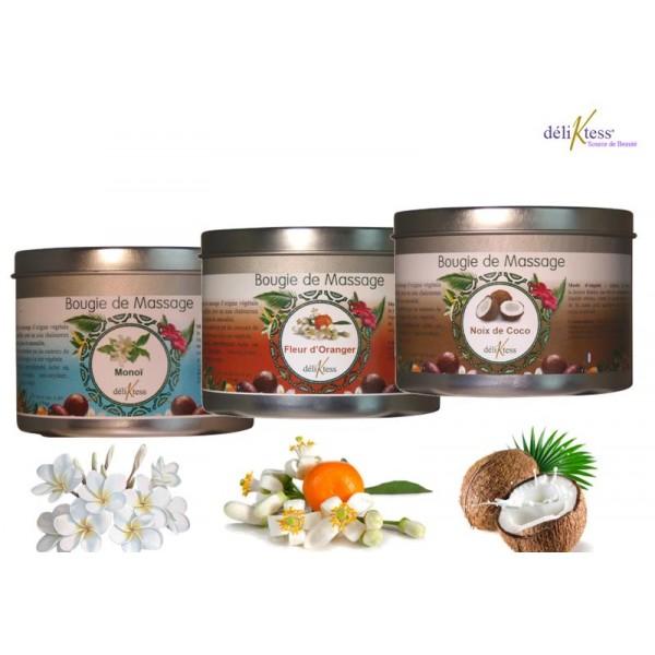 Bougies de massage 175 ml parfum au choix