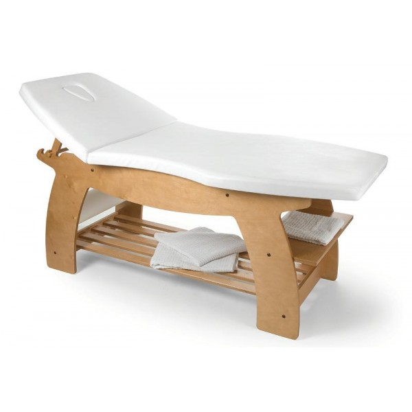 Table de massage en bois clai Fidji