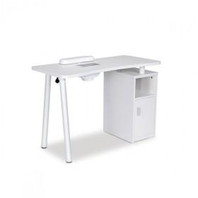 Table manucure LUCIA avec aspirateur de table