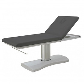 Table électrique pieds métal Hern Grise