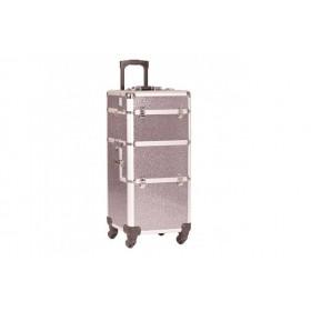 Trolley aluminium gris