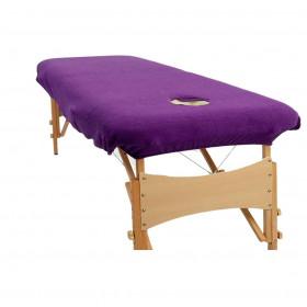 Housse éponge Violet pour tables portables