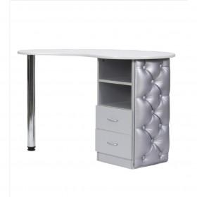 Table manucure Art design Argent