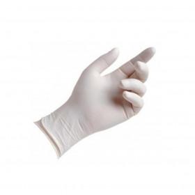Gants Vinyle Strech Blanc medium