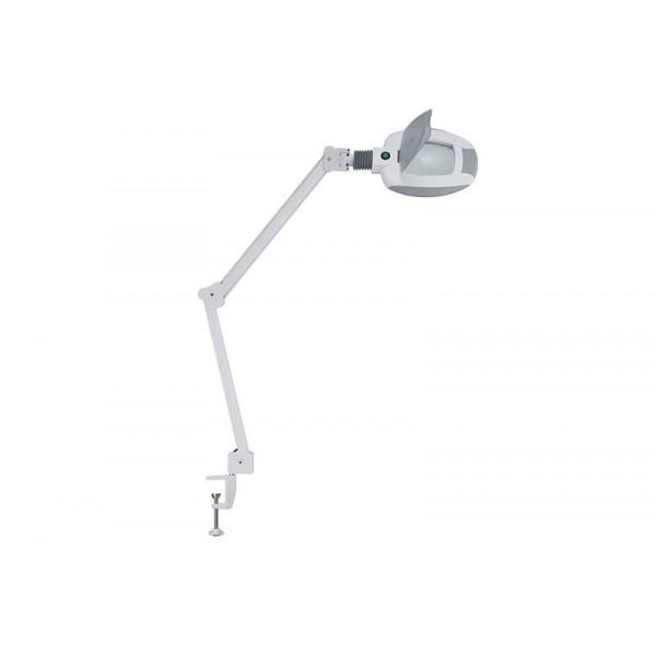 Lampe loupe LED avec étau