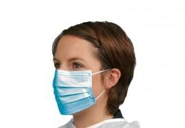 Masque protecteur bleu x 100
