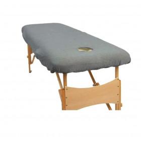 Housse éponge Grise pour tables portables