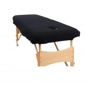 Housse éponge Noire pour tables portables