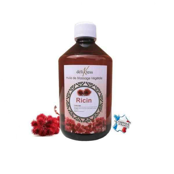 Huile végétale de Ricin 500 ml