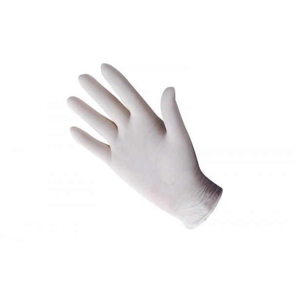 Gants latex medium