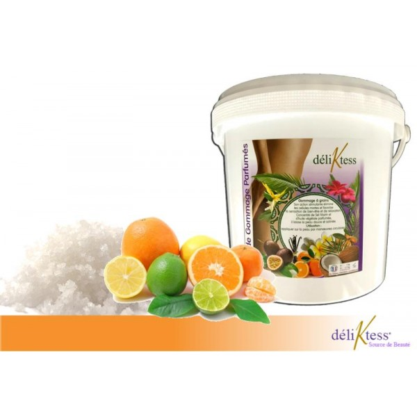 Gommage au sel et Cocktail de fruits 2,5 kg
