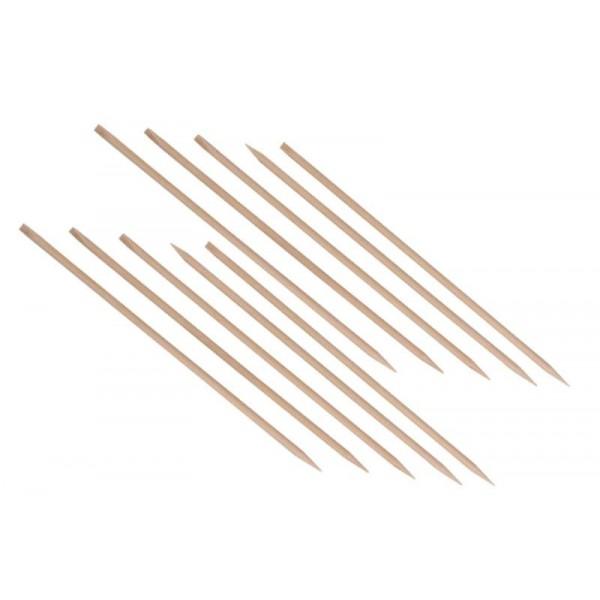 10 bâtonnets manucure en buis