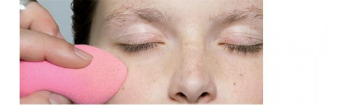Eponges et houpettes maquillage