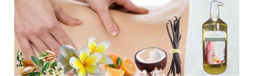 Huiles de massage végétales