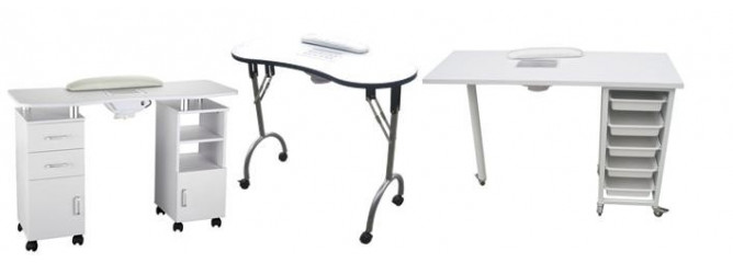 Tables Manucure