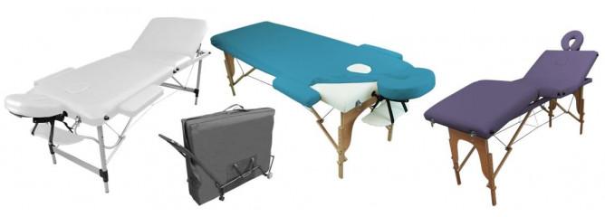 Tables de soins Portables
